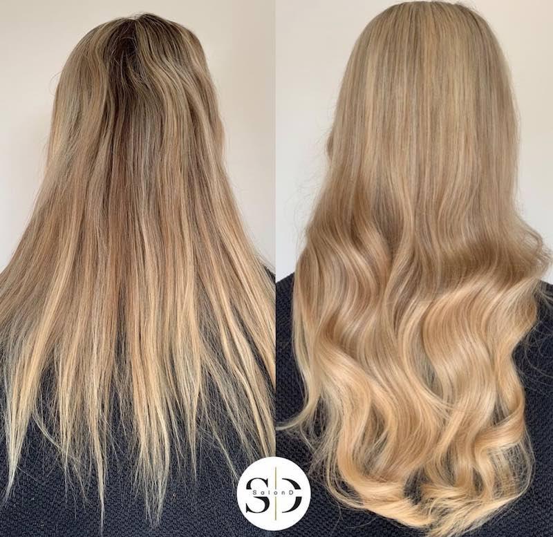 Hairweaves, natuurlijke haarverlenging - haar extensies - Salon D