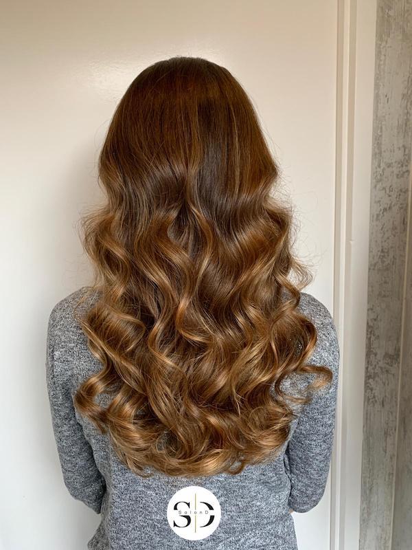 Hair weaves van natuurlijk haar zetten in regio Uden - Veghel - Zeeland en Schaijk - Salon-D